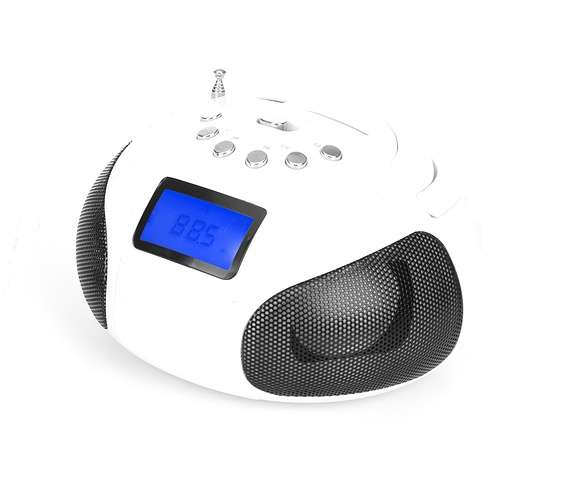 RADIO FM NUMERIQUE ANTZZ BLANC MP3/WMA / USB/SD/MMC 0