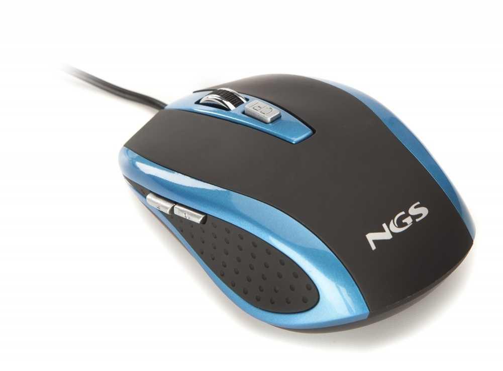 SOURIS BLUETICK FILAIRE OPTIQUE USB PC BLEU 0