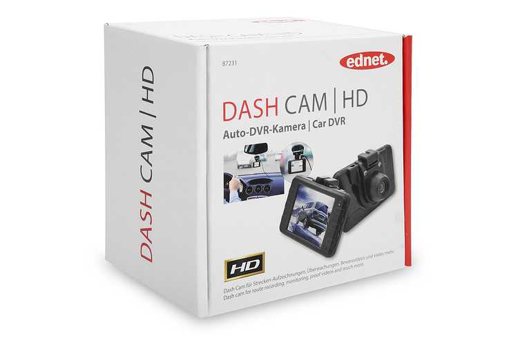 CAMERA EMBARQUEE DASH HD 720P 3MP LED + LCD + SUPPORT 87231-5