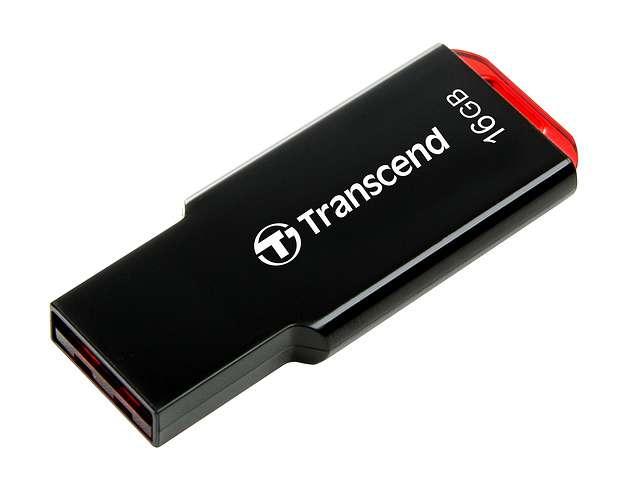 CLE USB 16 GO SERIE 310 NOIR USB 2.0 SANS CAPUCHON SLIM 16gjf3102