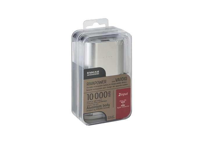 CHARGEUR VA1010 10 000 MAH 3.1A MICRO USB+LIGHTNING va1010-2