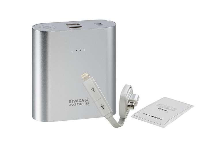 CHARGEUR VA1015 15 000 MAH 3.1A MICRO USB+LIGHTNING va1015-2