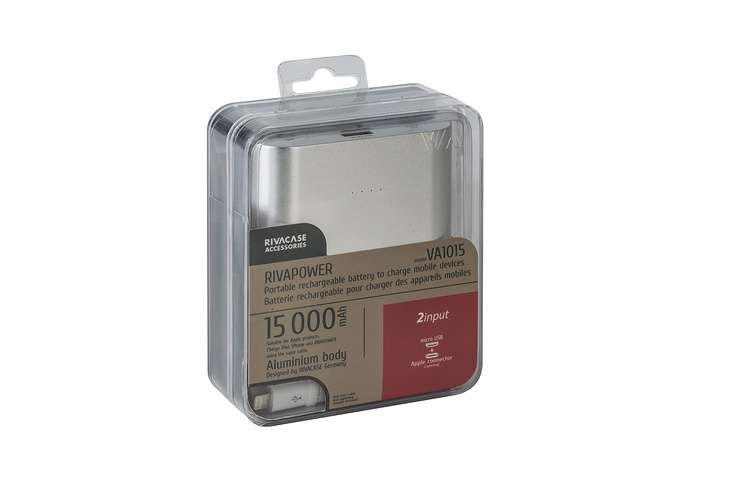 CHARGEUR VA1015 15 000 MAH 3.1A MICRO USB+LIGHTNING va1015-3