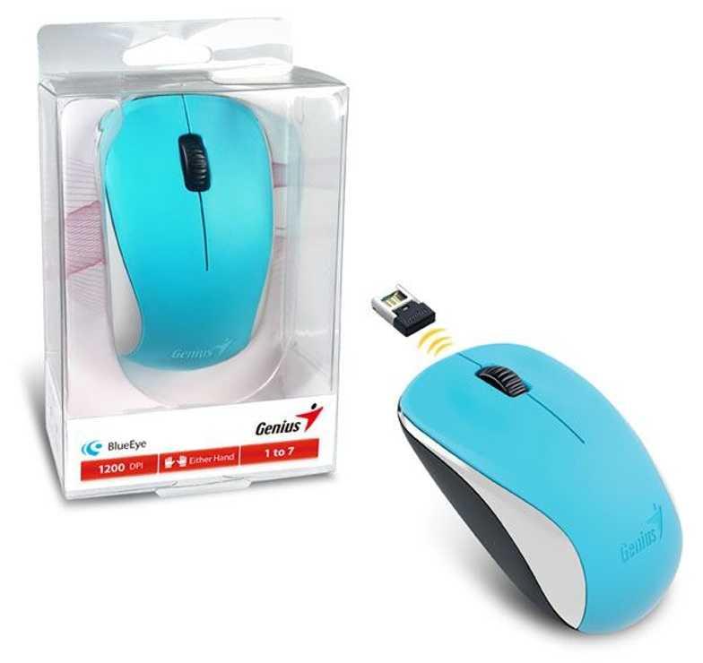 SOURIS NX-7000 BLEU SANS FIL OPTIQUE USB PC 31030109109
