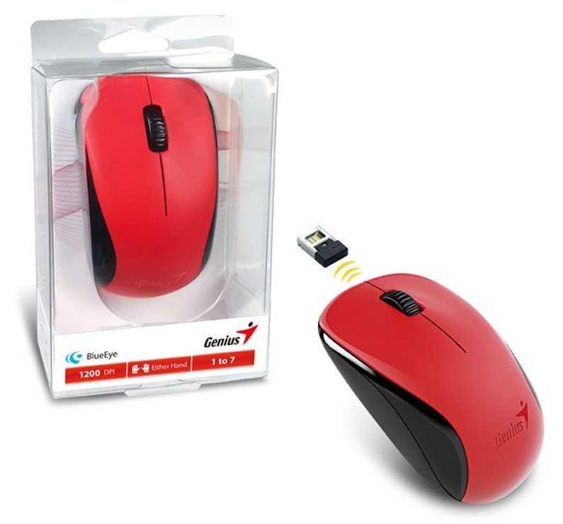 SOURIS NX-7000 ROUGE SANS FIL OPTIQUE USB PC 31030109110