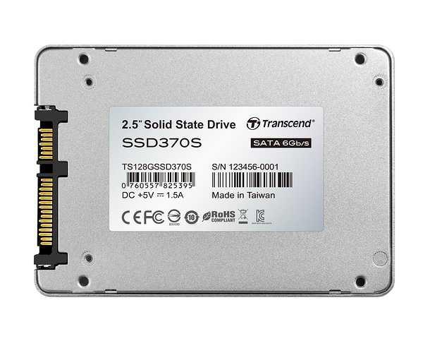 DISQUE DUR INTERNE 128GB SSD 2.5'''' SATA III 6 GB/S ts128gssd370s-1