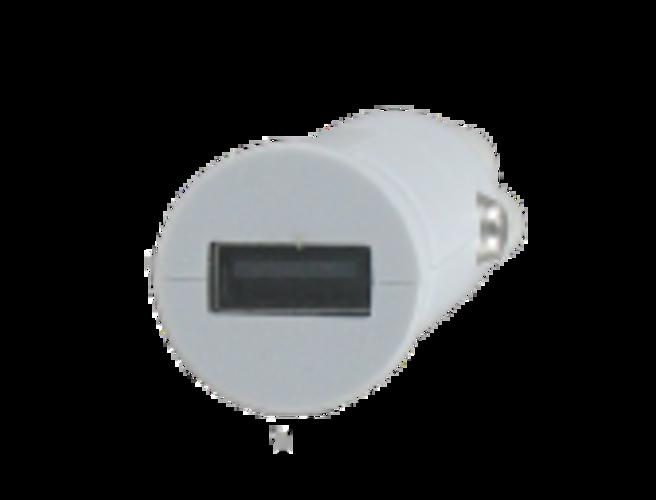 CHARGEUR VOITURE UNIVERSEL 1 X USB 1A 5 WATTS BLANC dy-au2361w-3quart