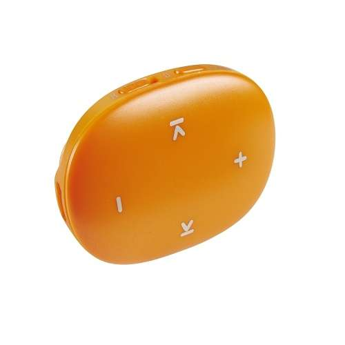 LECTEUR MP3 MUSIC DANCER - CARTE MICRO SD 8 GO - ORANGE 3604565