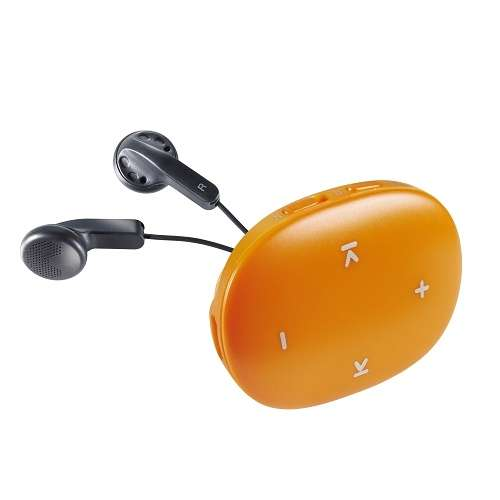 LECTEUR MP3 MUSIC DANCER - CARTE MICRO SD 8 GO - ORANGE 0