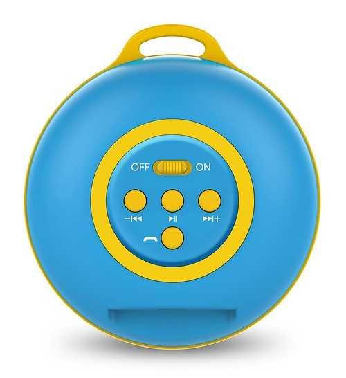 ENCEINTE SP-906BT BLUETOOTH SYSTEME 1.0 PUISSANCE 3 WATTS BLEU 31731070101
