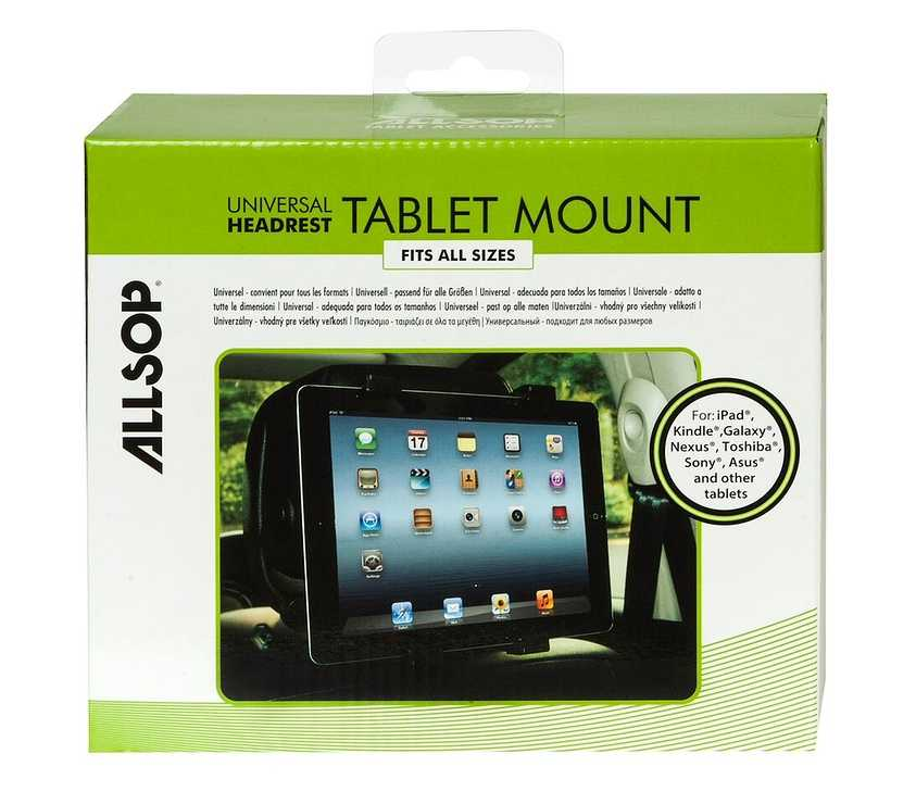 SUPPORT APPUIE TETE TABLETTE 7 A 10'''' AJUSTABLE 07131-3