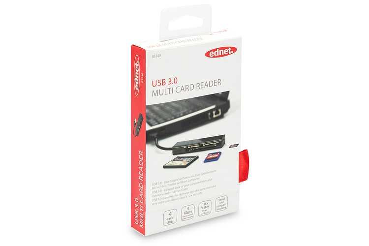 LECTEUR DE CARTE 4 EN 1 USB 3.0 85240-2