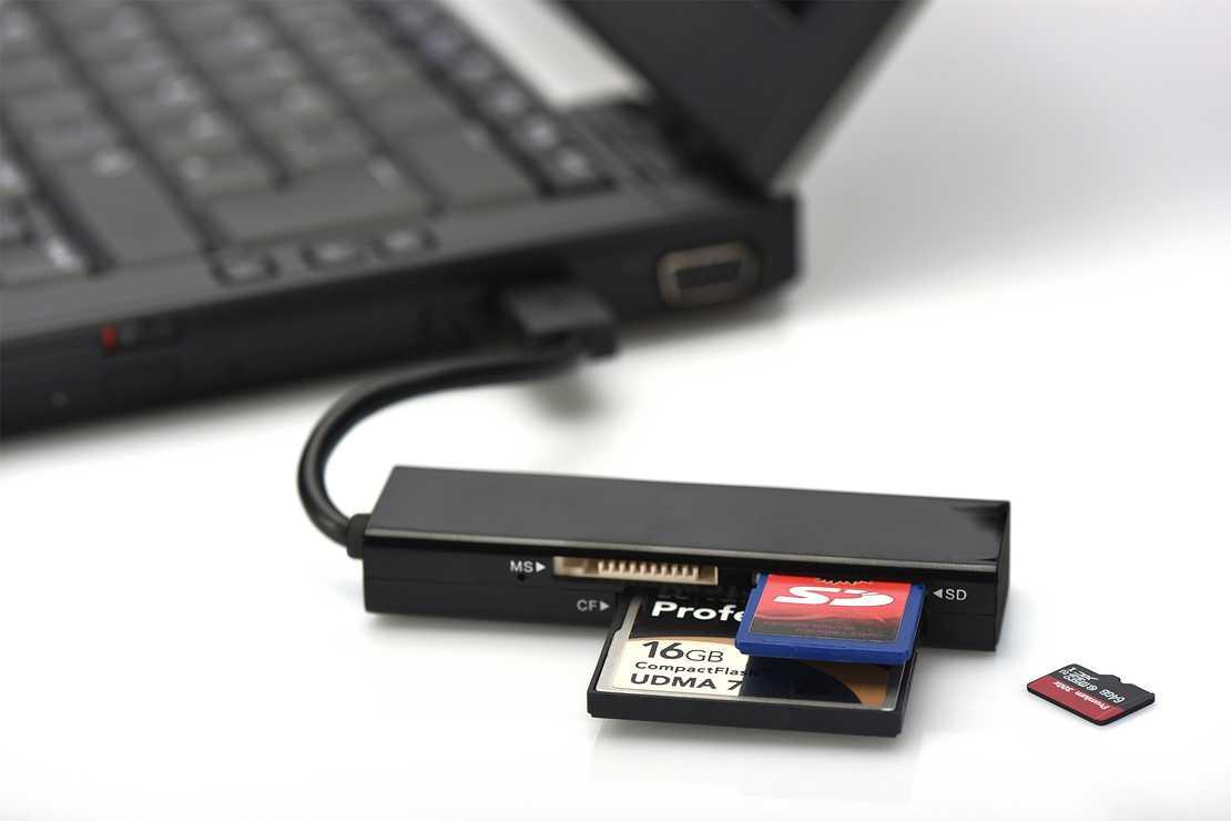 LECTEUR DE CARTE 4 EN 1 USB 3.0 85240-1