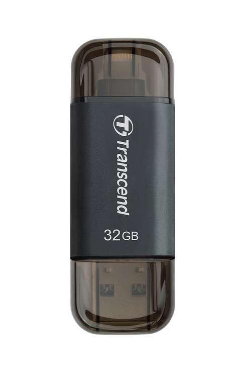 CLE USB OTG 32GO SERIE 300 NOIR LIGHTNING USB 3.1 PR APPLE ts32gjdj300k