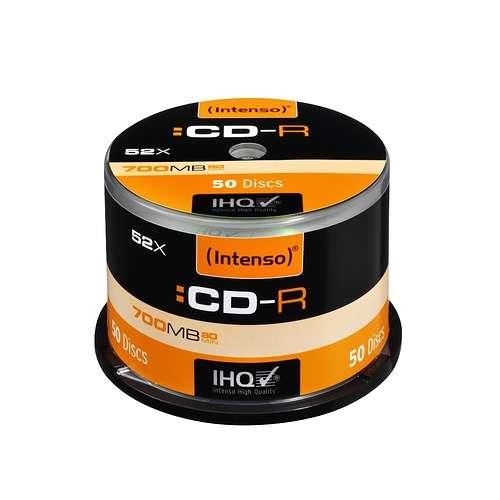 CD-R 80MN INTENSO 52 X 700MB CAKEBOX (X50) 0