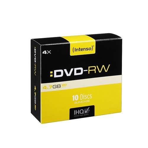 DVD-RW 4.7 GO (4X) BOITIER STANDARD (X10) 0