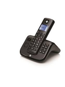 TELEPHONE T211 ESSENTIEL DECT SINGLESET BLACK + REPONDEUR