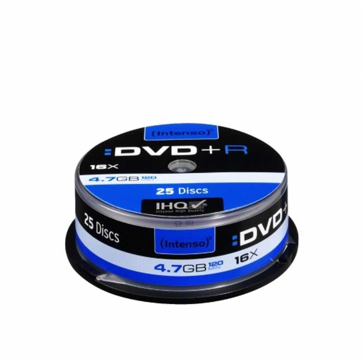 DVD+R 4.7 GO (16X) SPINDLE (X25) 0