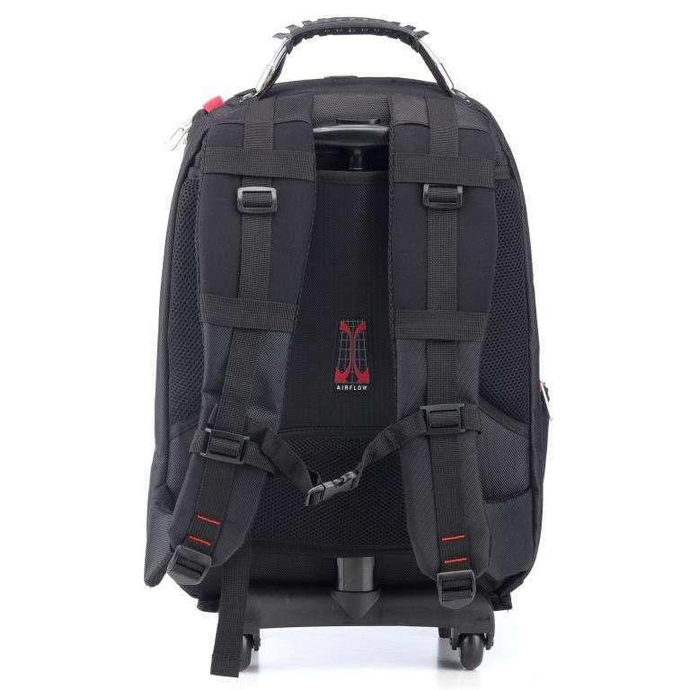 sac dos trolley sherpa 16 39 39 noir noriak. Black Bedroom Furniture Sets. Home Design Ideas