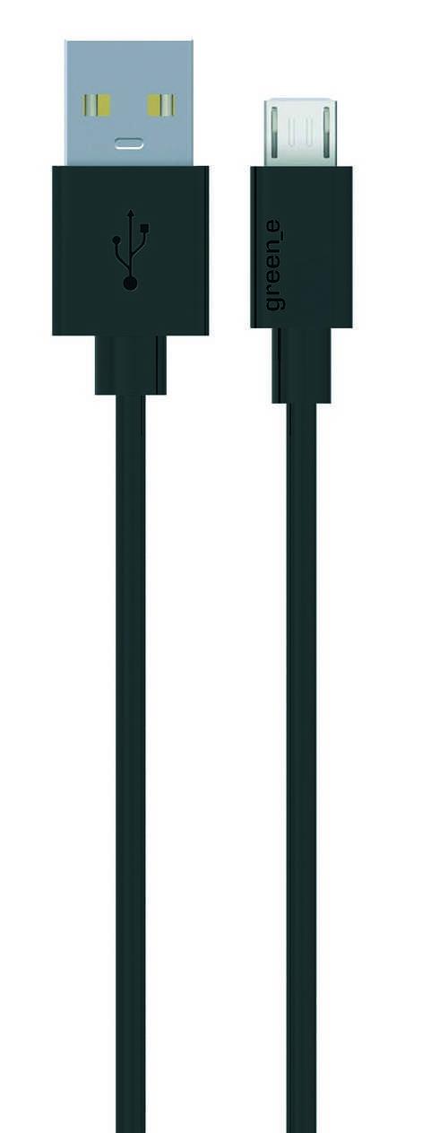 CORDON MICRO USB TPE 2,1A NOIR 90 CM 0