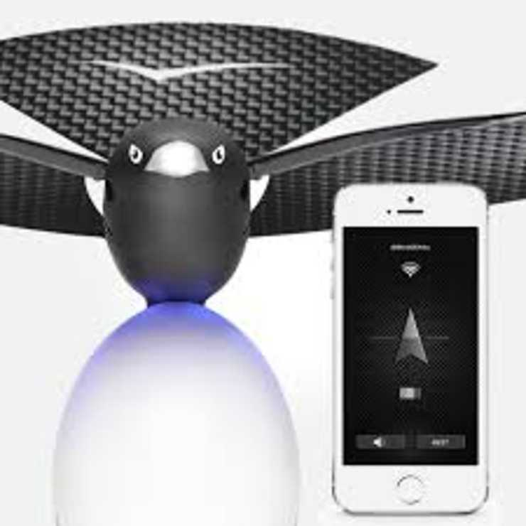 DRONE BIONIC BIRD BLUETOOTH CONNECTE POUR SMARTPHONE PORTEE 100M bionicbird
