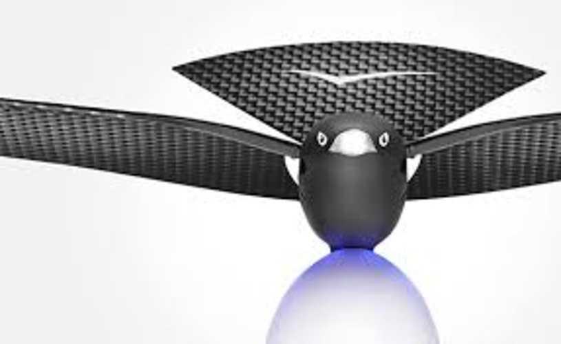 DRONE BIONIC BIRD BLUETOOTH CONNECTE POUR SMARTPHONE PORTEE 100M 0