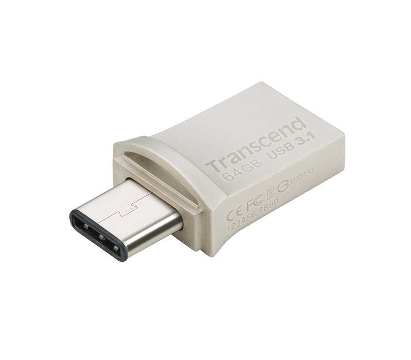 CLE USB 64GO SERIE 890 SILVER USB 3.1 TYPE C 0
