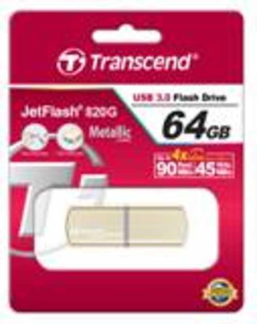CLE USB 64GO SERIE 820 GOLD USB 3.0 ts64gjf820g