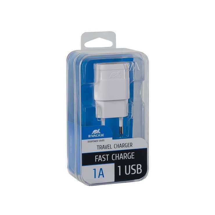 CHARGEUR SECTEUR UNIVERSEL 1 X USB 1A BLANC va4111w00-2