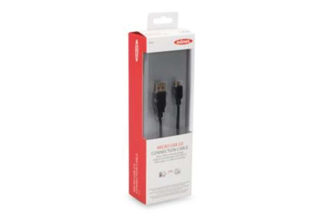 CORDON USB USB 2.0 A/M - MICRO USB B/M 1.80M GOLD 84200-2