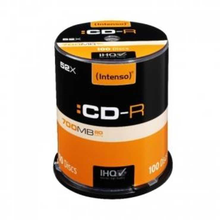 CD-R 80MN 52 X 700MB CAKEBOX (X100) 0