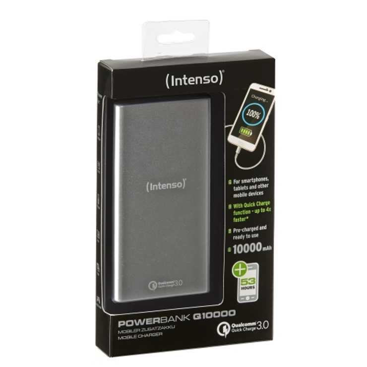 CHARGEUR SERIE QUICKCHARGE 10000MAH 5V 3.1A SILVER 7334531