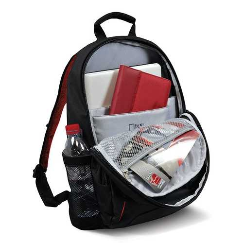 SAC A DOS HOUSTON 17.3'''' NOIR 110265houston-backpack-ouvert