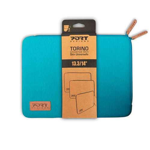 HOUSSE TORINO 13.3/14.4'''' BLEU 140387torino-turquoise-pack