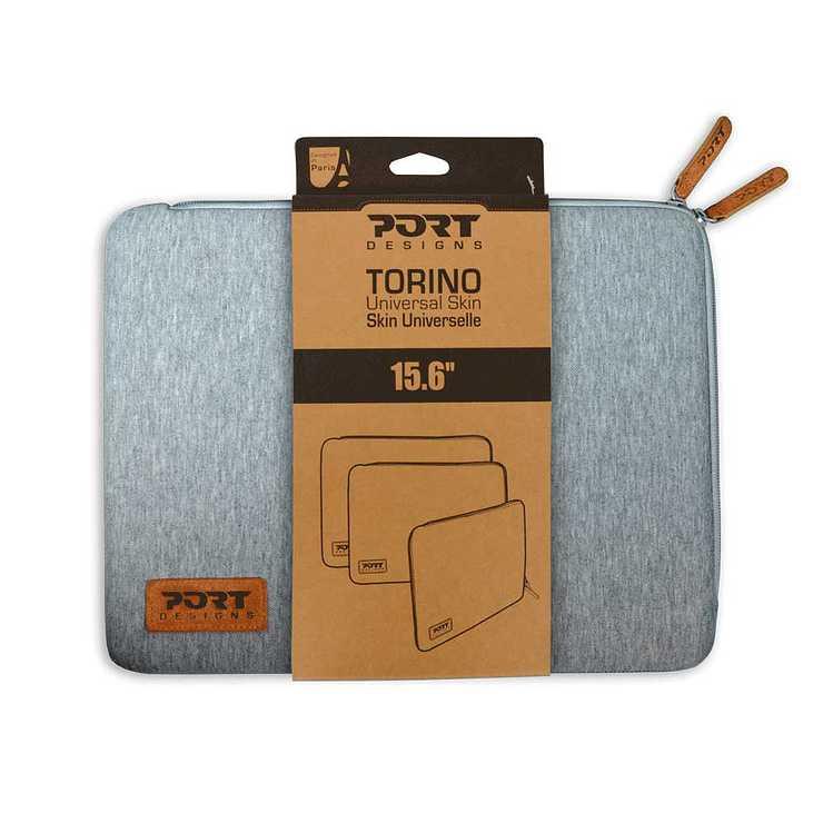 HOUSSE TORINO 15.6'''' GRIS 140385torino-grey-pack