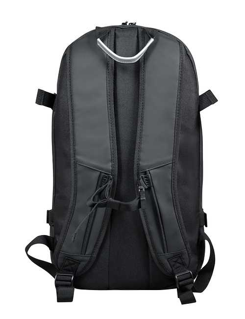 SAC A DOS BROOKLYN 15.6'''' GRIS FONCE 135062brooklynbackpackgreybackview
