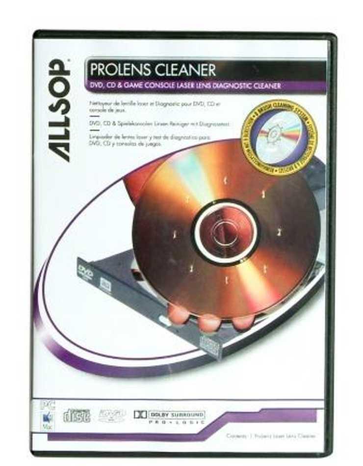 CD DE NETTOYAGE PROLENS POUR CD/DVD ET CONSOLE DE JEUX 0