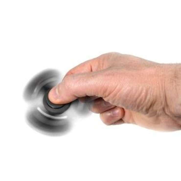 HAND SPINNER NOIR ROULEMENT ABEC 5 tea169n02small