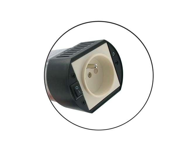 CONVERTISSEUR DE PRISE ALLUME CIGARE 150W USB 2.1A dy-su1562n-zoom-prise-light