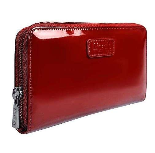 PORTEFEUILLE PLUME VINYLE ROUGE 77821-348203small