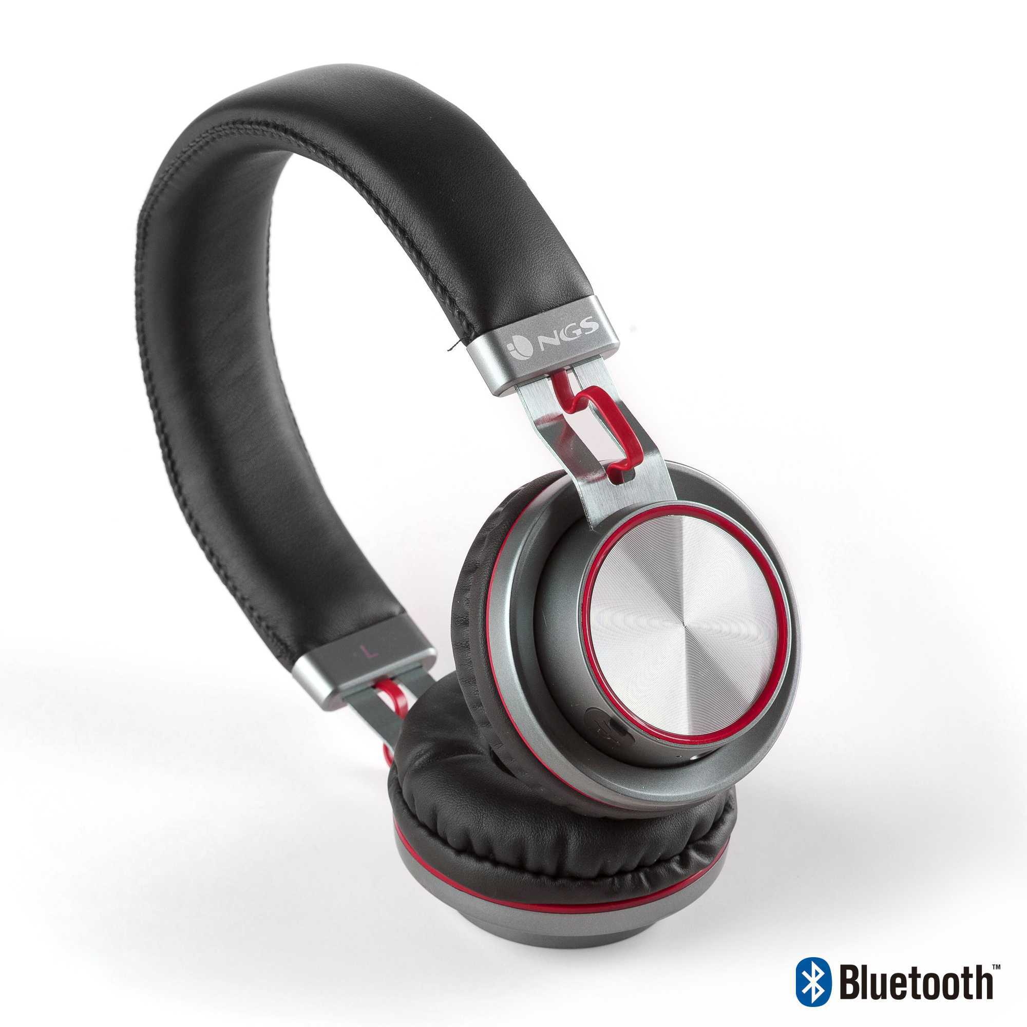 casque audio artica patrol bluetooth avec micro metal rouge noriak. Black Bedroom Furniture Sets. Home Design Ideas