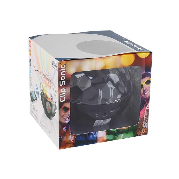 ENCEINTE BOULE DISCO BLUETOOTH SYSTEME 1.0 PUISSANCE 6 WATTS tes119npack