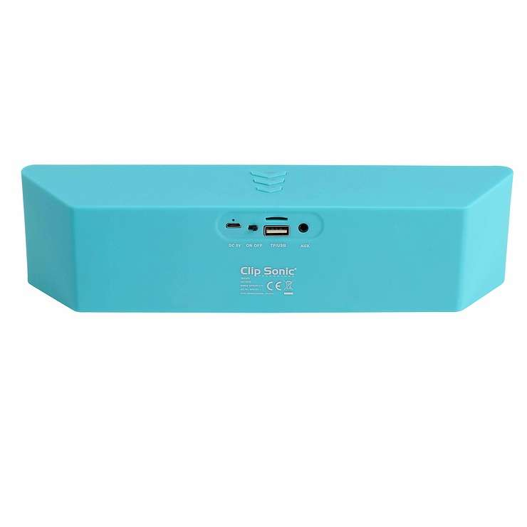 ENCEINTE GOMME VERT BLUETOOTH SYSTEME 1.0 PUISSANCE 6 WATTS RMS tes157vhd02