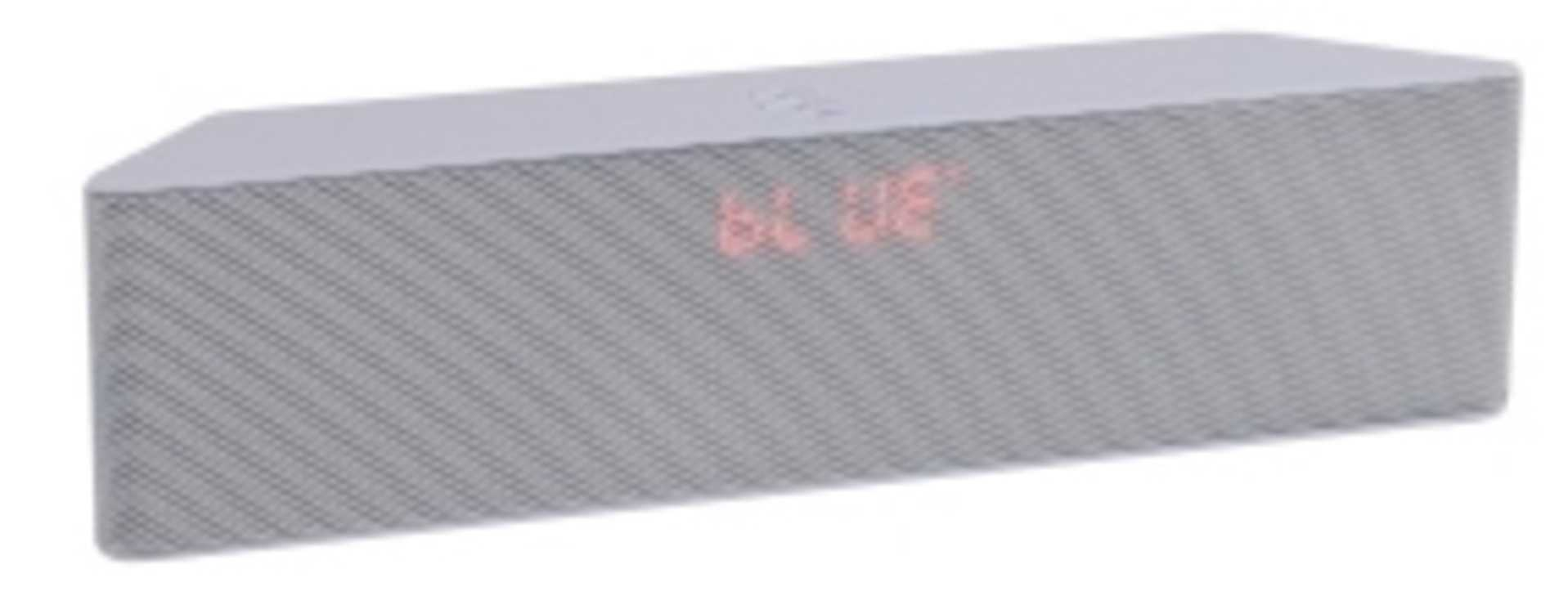 ENCEINTE GOMME BLANC BLUETOOTH SYSTEME 1.0 PUISSANCE 6 WATTS RMS 0