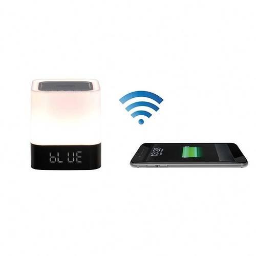 Enceinte Bluetooth radio réveil puissance 5 Watts RMS tes160hd01