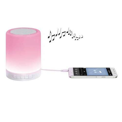 ENCEINTE LED AMBIANCE BLUETOOTH PUISSANCE 3 WATTS RMS tes176hd01