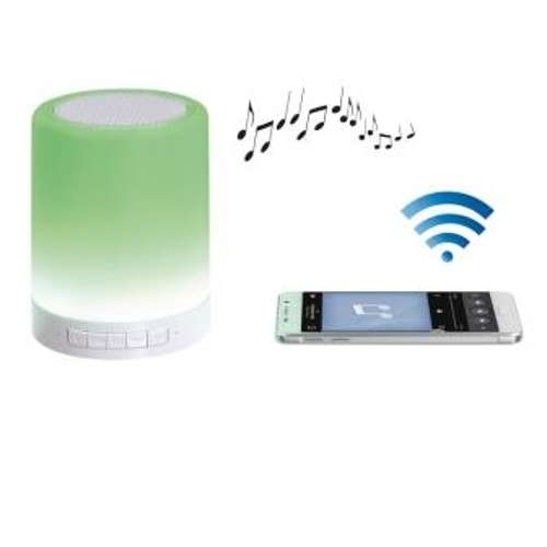 ENCEINTE LED AMBIANCE BLUETOOTH PUISSANCE 3 WATTS RMS 0