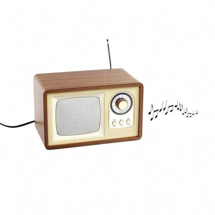 ENCEINTE RADIO RETRO BLUETOOTH PUISSANCE 5 WATTS RMS tes177hd03