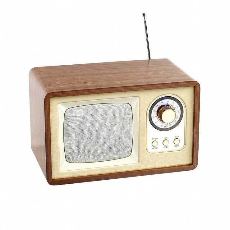 ENCEINTE RADIO RETRO BLUETOOTH PUISSANCE 5 WATTS RMS tes177hd04