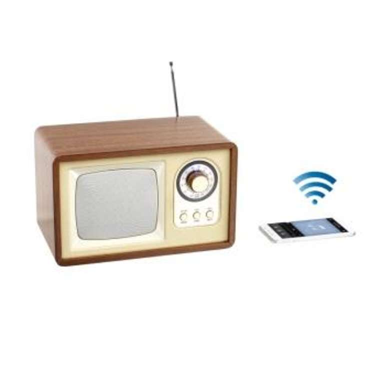 ENCEINTE RADIO RETRO BLUETOOTH PUISSANCE 5 WATTS RMS 0